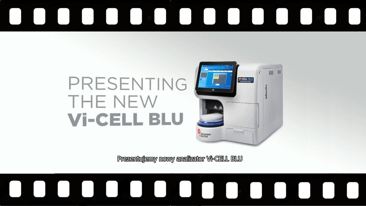 Najnowszy analizator Vi-CELL BLU - video
