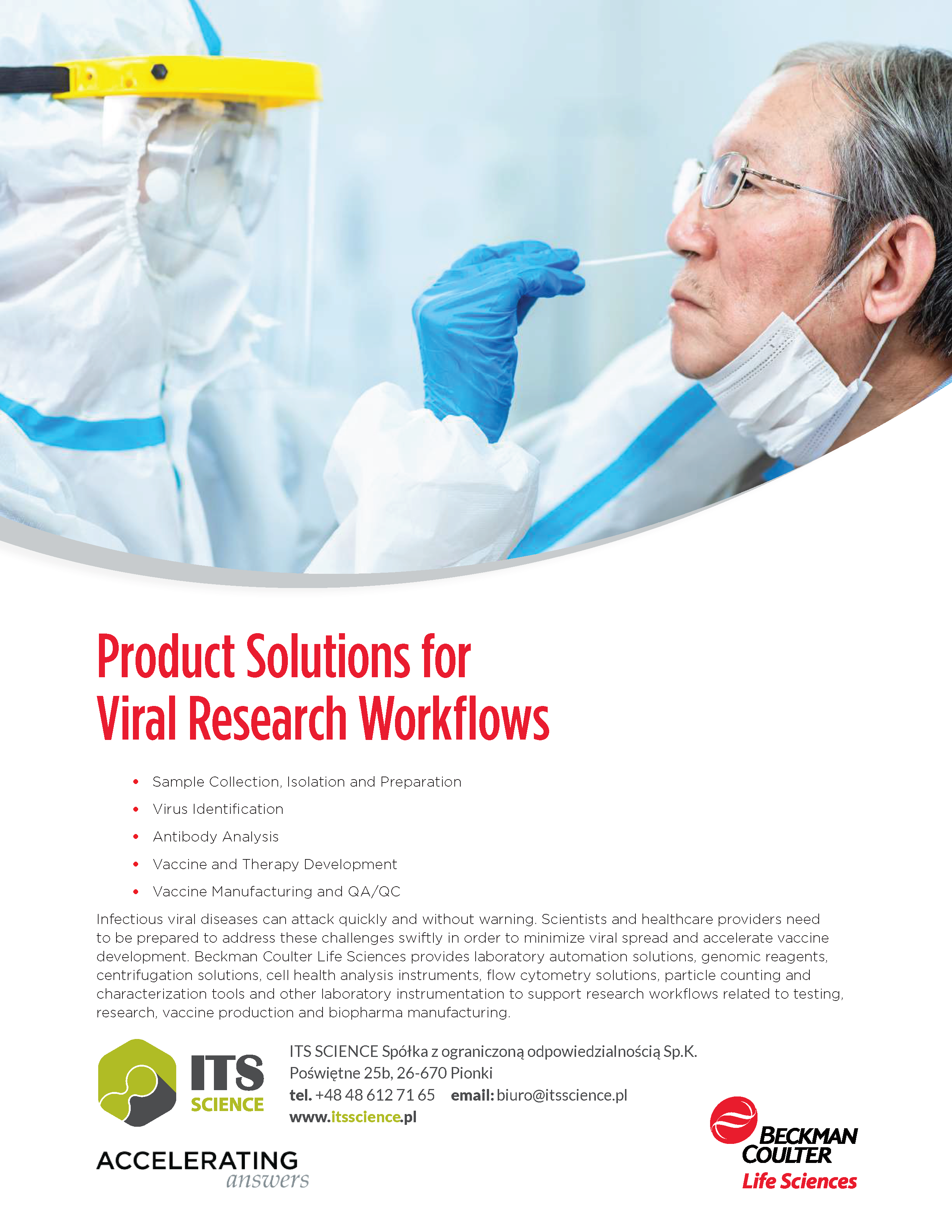 Viral Research Workflow Solutions Accelerating Answers